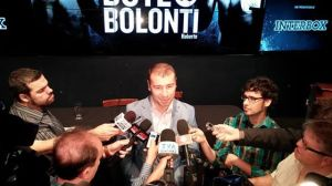 Lucian Bute en point de presse
