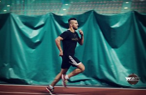 David Lemieux a la course