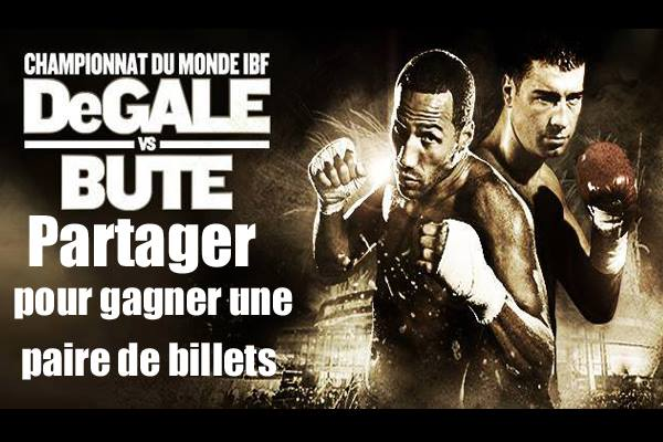 Concours DeGale Bute