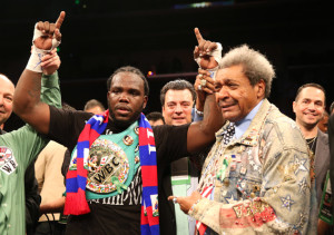 Don King et Bermane Stiverne