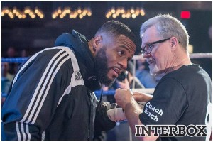 Freddy Roach et Jean Pascal en discussion