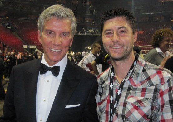 Stephane Loyer et Michael Buffer