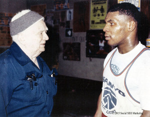 Cus D'Amato et Mike Tyson
