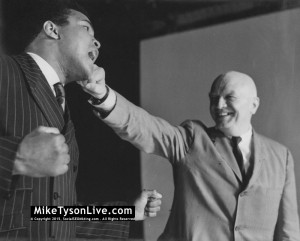 Muhammad Ali and Cus D'amato