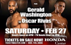 Gerald Washington VS Oscar Rivas