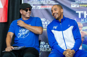 Virgil Hunter et Andre ward