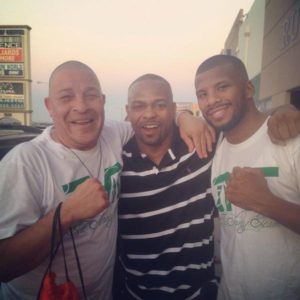 Lou Del Valle, Badou Jack et Roy Jones