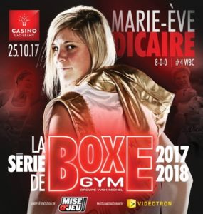 Marie-Eve Dicaire affiche