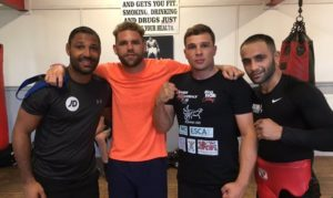 Billy Joe saunders Kell Brook