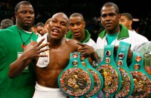 Floyd Mayweather grand champion