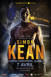 Simon Kean 7 avril a Quebec