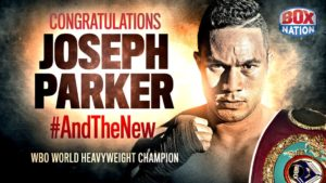 new champion WBO Joseph Parker